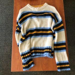 UO striped sweater